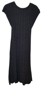 Calvin Klein short dress Gray Chunky Cable Knit Sweater on Tradesy