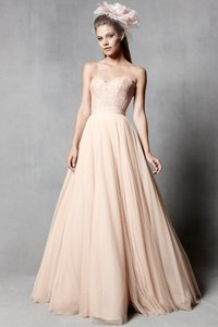 Watters Carina Corset Top And Ahsan Tulle Skirt Wedding Dress