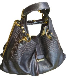 Jimmy Choo Tote in Brown metallic