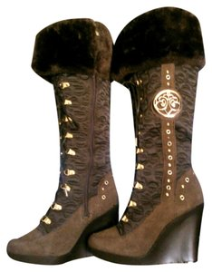 House of Deréon Brown Boots