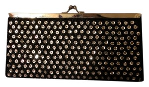 Bling Small black with rhinestones Clutch