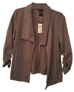 Grace Elements Great For Travel Gray Blazer