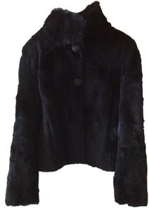 Nine West Genuine Fur Jacket Fur Coat