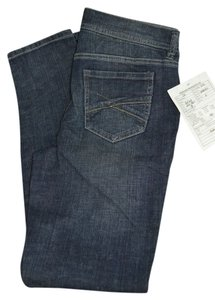 curve apparel Straight Leg Jeans-Dark Rinse