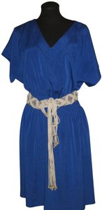 Suzi Chin for Maggy Boutique short dress blue on Tradesy