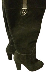 Joan & David Knee High Brand New & Size 7 black suede Boots