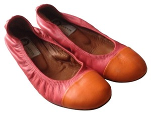 Lanvin Hot pink and Orange Flats