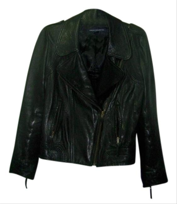 Preload https://item2.tradesy.com/images/french-connection-black-leather-jacket-size-8-m-1062391-0-0.jpg?width=400&height=650