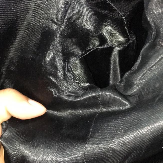 French Connection BLACK Leather Jacket