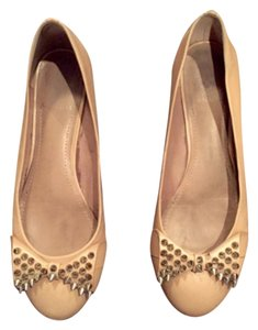 Vince Camuto Studded Leather pink Flats