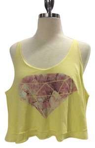 Wildfox T-shirt Limited Edition Short Sleeves Top yellow