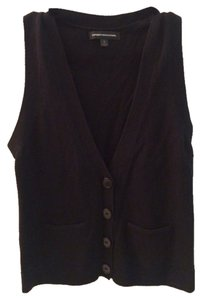 Express Buttons Vest Cardigan