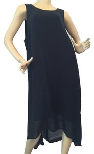 Black Maxi Dress by Karen Kane Plus Size Hi-low