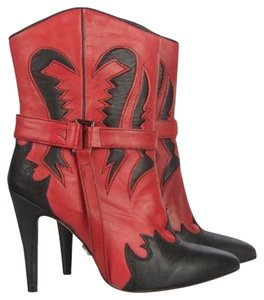 SuperTrash Red & Black Boots