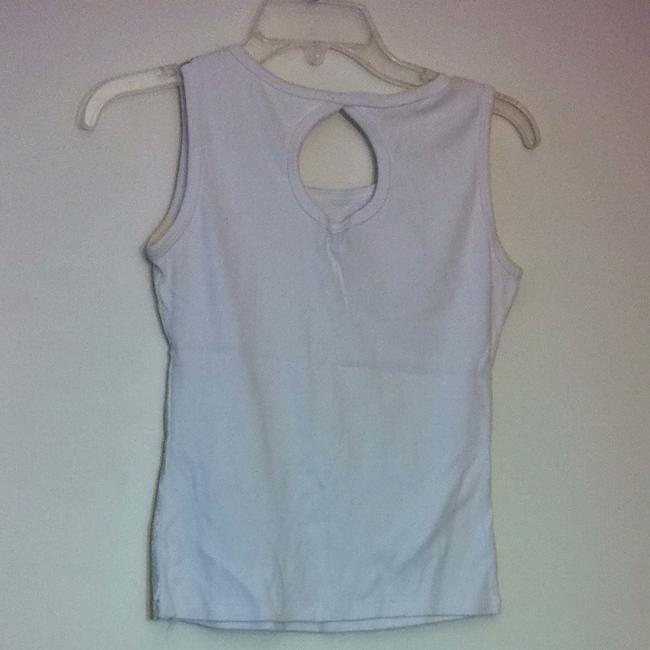 Dollface Top White & Silver