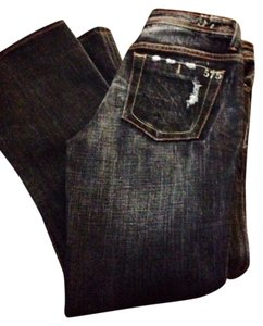 575 Denim Boot Cut Jeans-Distressed
