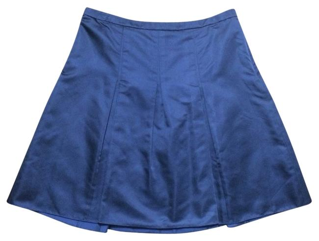 Preload https://img-static.tradesy.com/item/1062794/ann-taylor-blue-silk-a-line-pleated-skirt-size-8-m-29-30-0-0-650-650.jpg