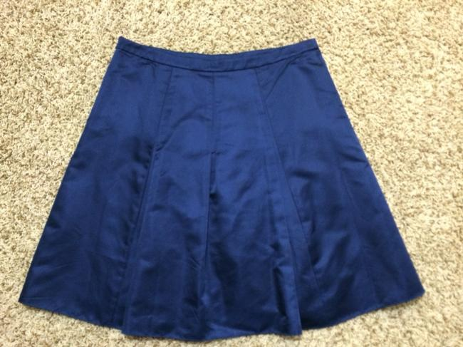 Ann Taylor Skirt Blue