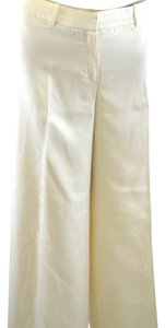 Escada Wide Leg Pants Cream