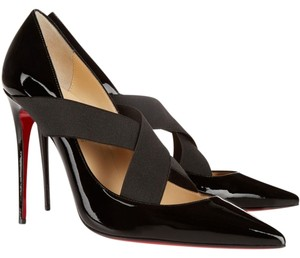 Christian Louboutin New Black Patent Pumps
