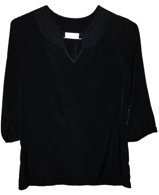 Chico's Sheer Ruffle V-neck Tunic