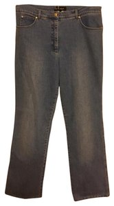 Escada Vintage Cheap Designer Fashion Relaxed Fit Jeans-Light Wash