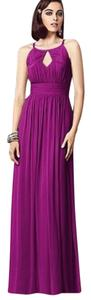 Dessy Full Length Lux Chiffon Dress