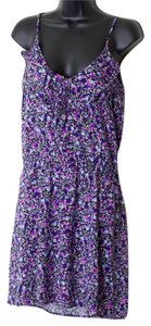 Mimi Chica short dress Print Multi-Color Juniors Size Medium Floral Shift on Tradesy