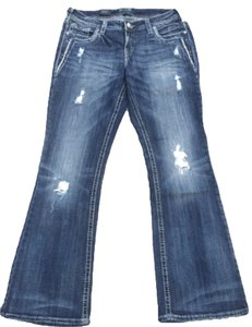 Silver Jeans Co. Pants Plus Boot Cut Jeans-Medium Wash