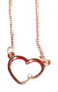 Artistry Artistry New Vintage Precious Heart Diamond Pendant, Gold-Filled Heart and Chain