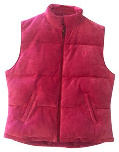 Lilly Pulitzer Suede Puffy Vest