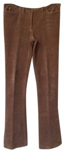 Max Studio Corduroy Boot Cut Pants Tan