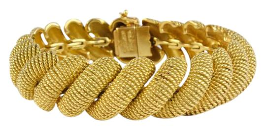 Tiffany & Co. Tiffany Gold Textured San Marco Bracelet