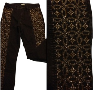 BDG Urban Outfitters Sparkly Skinny Jeans-Dark Rinse
