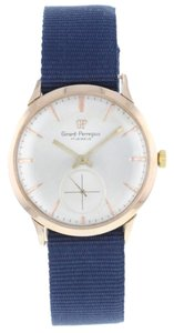 Girard-Perregaux Girard-Perregaux 18K Rose Gold Hand-Winding Vintage Men's Watch (3467)