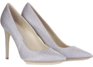 Stella McCartney Galaxy Silver glitter pumps Pumps