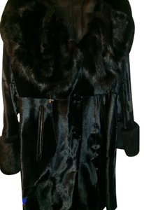 Via Veneto Shearling Sheepskin Fur Coat