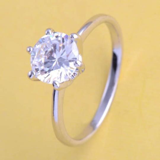 1/2ct Solitaire Engagement/promise Ring Free Shipping