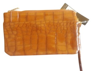 rebecca & rifka NEW BEAUTIFUL wristlet WALLET BROWN