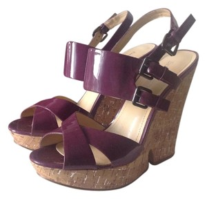 Enzo Angiolini Comfy Light Purple Wedges