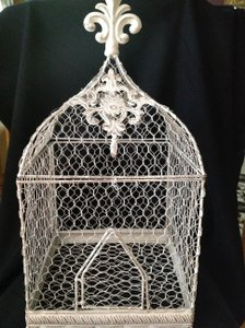 Bird Cage For Decorations Or Cards