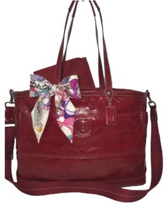 Coach Multifunctional Tote RED Diaper Bag