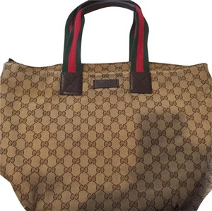 Gucci Tote in Brown signature