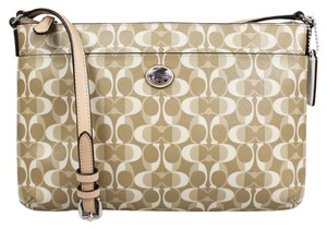 Coach Swing Pack Tan East West Peyton Dream Cross Body Bag