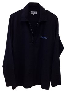 Replay REPLAY *MEN'S* BLUE JEANS BLACK LONG SLEEVE COLLARED SHIRT WITH ZIPPER DOWN FRONT