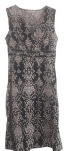 Croft & Barrow short dress Black and Whote Summer 12p Garden Party on Tradesy