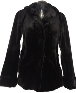 Versace Coat Mink Fur Blazer Jacket
