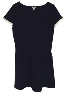 J.Crew short dress Navy with white trim on Tradesy