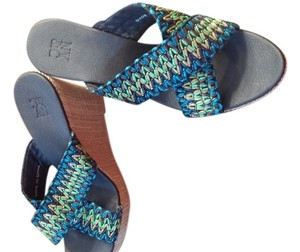 New York & Company Blue Wedges