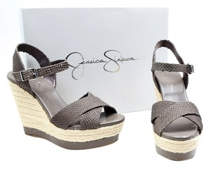 Jessica Simpson Wedge Grey Wedges